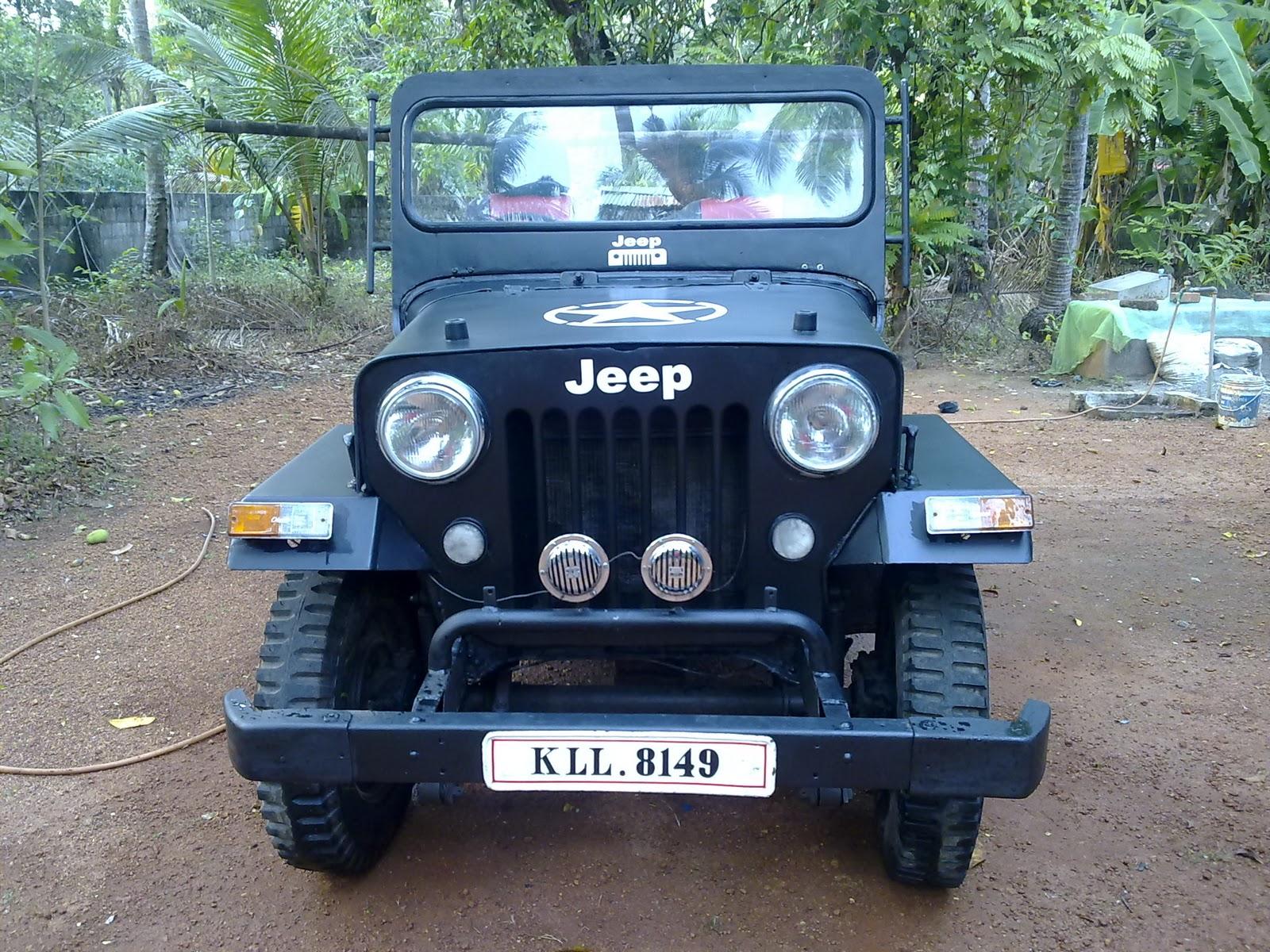 Mahindra Cj 500d My Modified Jeep March 2011