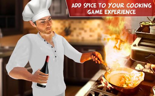 Virtual Chef Cooking Game 3D: Super Chef Kitchen apkdebit screenshots 12