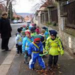 Na procházce s Walkodile 20.11.2013 1.třída Nad Palatou