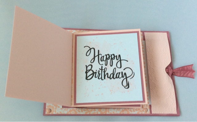Lindas Craft Room Pretty Kitty Birthday Card