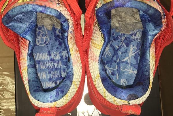 reputable site aabe8 380c1 Nike LeBron 12 Low Trainwreck PE Sighting on eBay   NIKE ...