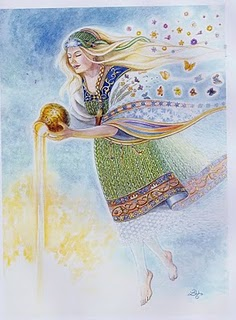 Saule Great Goddess Of The Baltic People Image
