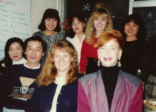 Lash with students and teachers, Japan. #WorkAbroadBecause it will open your mind!