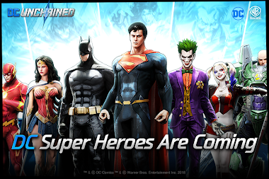 DC: UNCHAINED APK screenshot thumbnail 1