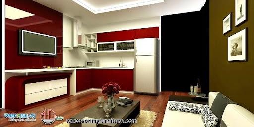 Trang trí nội thất phòng khách hiện đại-2