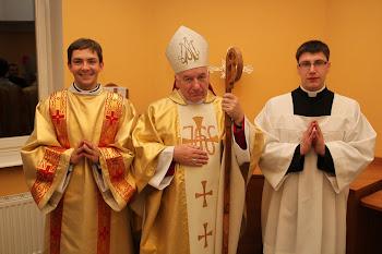 Święcenia diakonatu i posługa akolitatu 2011