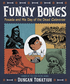 2015 뉴욕타임스 올해의 그림책_Funny Bones: Posada and His Day of the Dead Calaveras