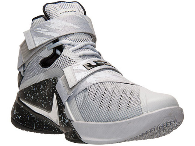 1f20643679ce This Grey amp Black LeBron Soldier 9 Joins the Premium Club ...