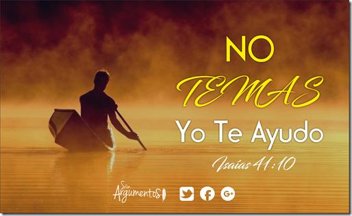 NO TEMAS ISAÍAS 41.10