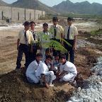 Plantation at Khel Gaon (Grade VII A & B) 4-7-2015