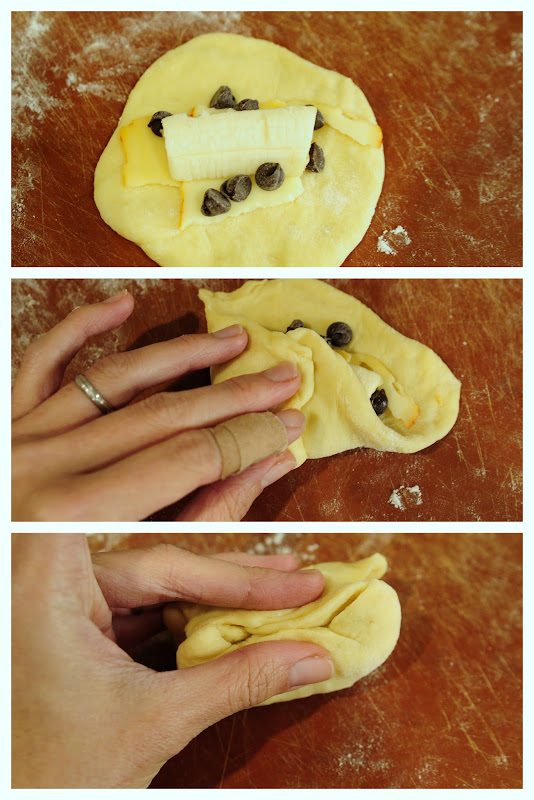 How to make Banana Chocolate Bun