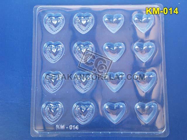 Cetakan Coklat KM014 KM KM14 cokelat love praline