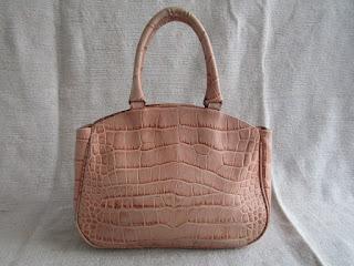 Furla Embossed Croc Bag