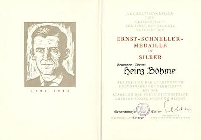 VII 007a Ernst-Schneller-Medaille in Silber