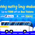 Railyatri – Flat Rs.200 Off on Minimum Bus Booking of Rs.450