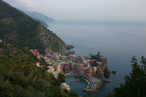 Vernazza on the Mediterranean