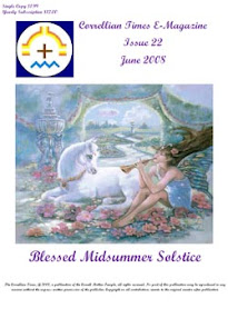 Cover of Correllian Times Emagazine's Book Issue 22 June 2008 Blessed Midsummer Solstice