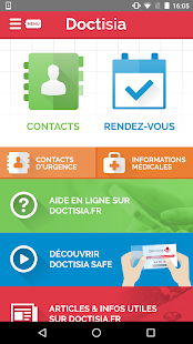 Doctisia Carnet de santé de l'urgence Rendez-vous - náhled