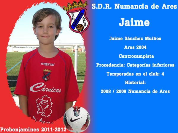 ADR Numancia de Ares. Prebemxamíns 2011-2012. JAIME.