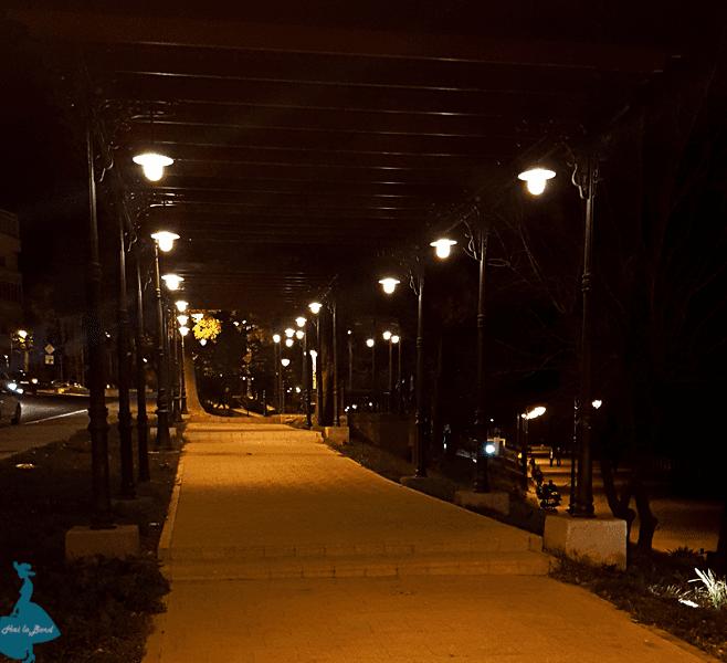 faleza constanta noaptea