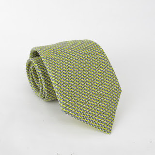 Hermès Snow Boarding Tie