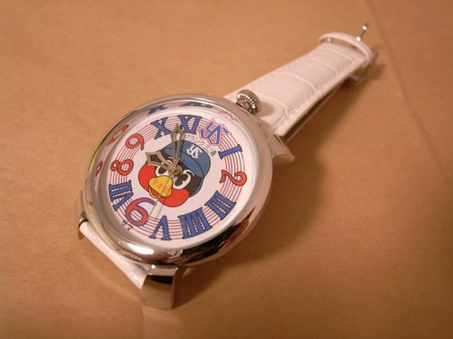 フランク三浦つば九郎腕時計感想