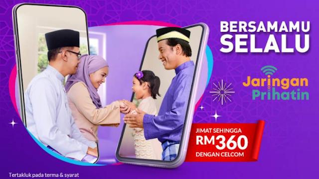 Cara Mudah Tebus dan Guna Rebate RM 15 Celcom (Jaringan Prihatin)