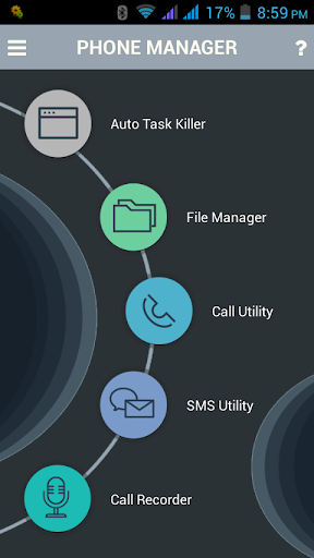 Smart Phone Manager