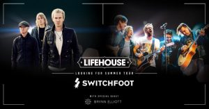 Lifehouse e Switchfoot unidos pelas vítimas do furacão Harvey