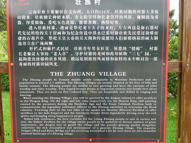 CHINE.YUNNAN.KUN MING Village des minorités 2 - P1270576.JPG