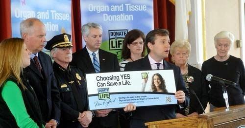 Braintree Ceremony Recognizes Donate Life Month
