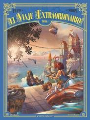 """Actualización 20/09/2018: Empezamos el segundo ciclo con el número 4 de El Viaje Extraordinario: """"Las Islas Misteriosas"""" de Filippi y Camboni, ignagurando nuevo equipo de tradumaquetación: en la traducción del francés tenemos a ViaJanDo, muy conocido por varias series que traemos del CRG, y en las maquetas sigo yo, Arsenio Lupín. Mantenemos la alianza entre las comunidades La Mansión del C.R.G., Prix Cómics, Outsiders y How To Arsenio Lupín. Esperamos que disfruten esta serie y de sus personajes tanto como nosotros."""