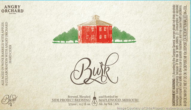 Side Project & Angry Orchard's Ryan Burk Collaborate On Burk (3/17)