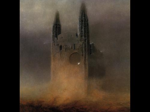 Zdzislaw Beksinski Tower Of Death, Death