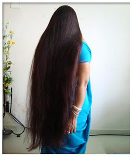 longhairgirls: pure indian long hair silky bun,ponytail nice to watch