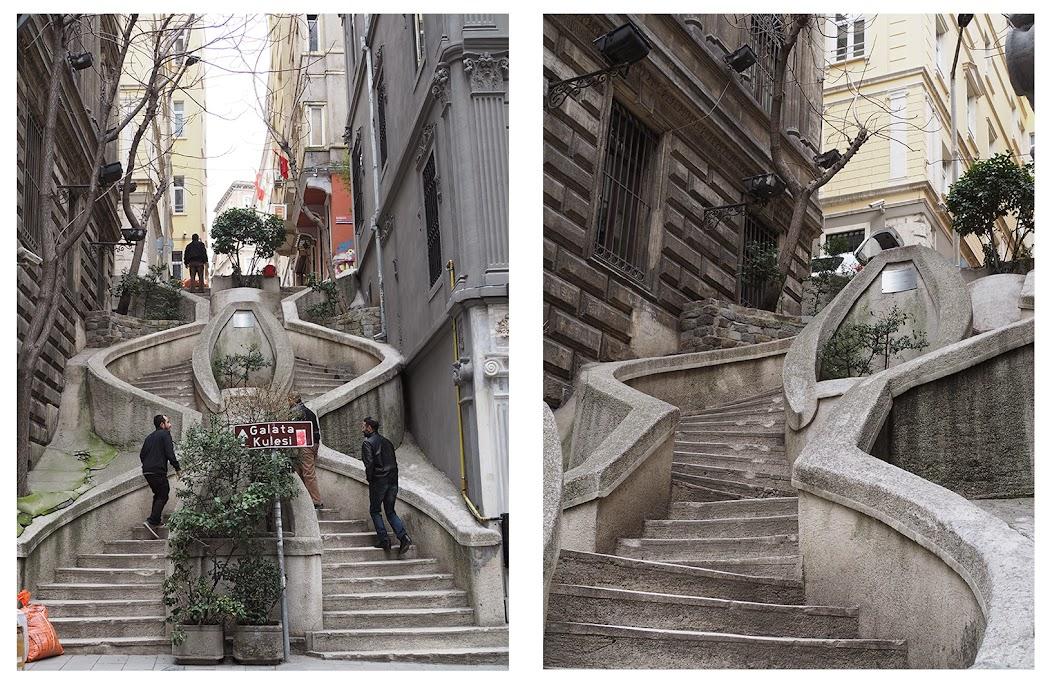 kamondo steps karakoy/galata