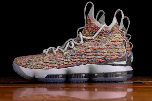 Release Reminder Nike LeBron 15 Fruity Pebbles