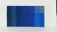 ©2018 Polly o'Leary - Blue Wool Scale 3 changes