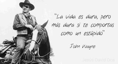 Resultado de imagen de Frases de John Wayne