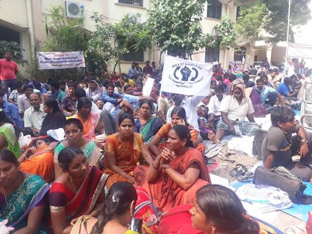 ஆசிரியர்களின் தொடர் போராட்டம் காரணமாக சென்னை டிபிஐ வளாகம் போராட்டக்களமானது