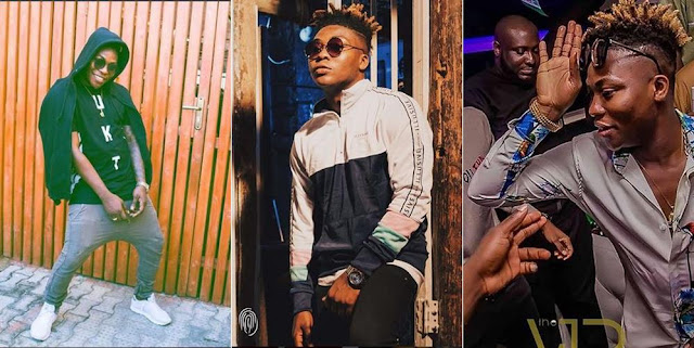 Reekado Banks Gets A Car From One Of His Fans (Photos)