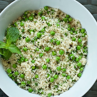 Sweet Pea and Mint Couscous.