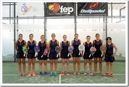 Federación Española Femenina de Pádel 2018