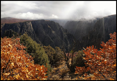 Black Canyon of the Gunnison in Fall