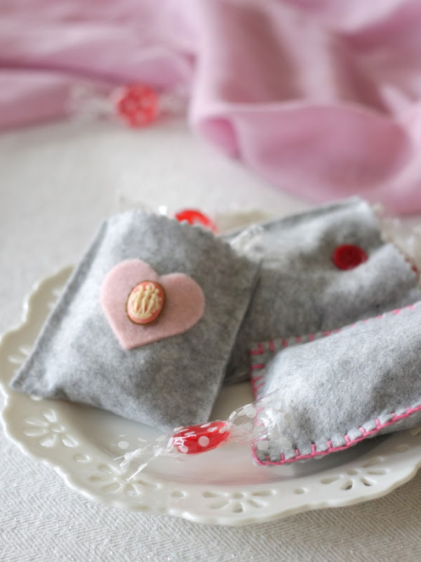 Grey Felt Valentine's Day Treat Bags by homework - carolynshomework (3)