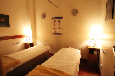 Taiji Body Work, Couple's Massage Room