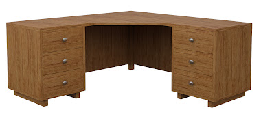 Aurora L-Shaped Desk