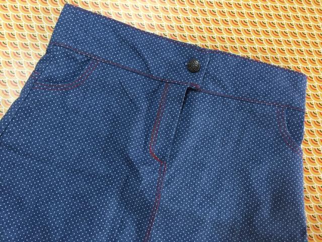 Coudre une jupe en jeans