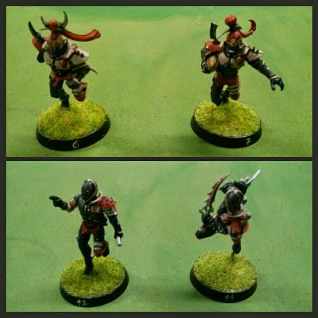 Corredores y Asesinos equipo Elfos Oscuros Darth Grumpy