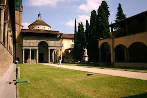Courtyard, Santa Croce, Florence